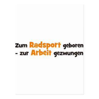 Radsport Postcard