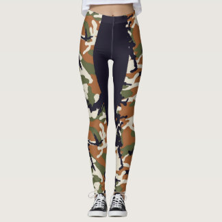 RAE STRIPE CAMO LEGGINGS