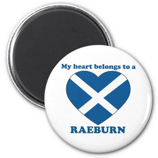 Raeburn Fridge Magnet