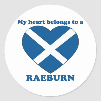 Raeburn Stickers