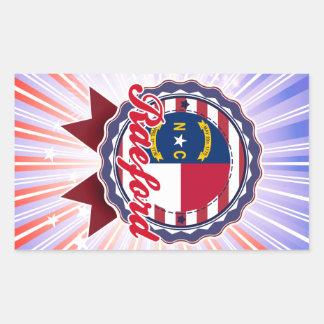 Raeford, NC Rectangular Sticker