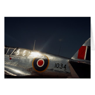 RAF Flyer - Greeting Card Blank