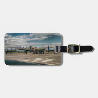 RAF Lancaster Bomber Tag For Luggage