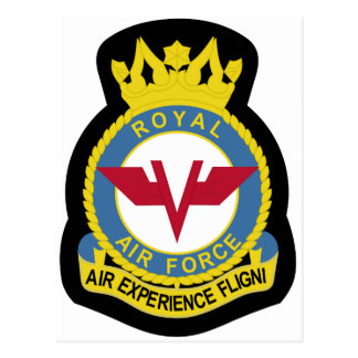 RAF Patch 5 Air Experience Flight AEF Crest Patch. Postcards