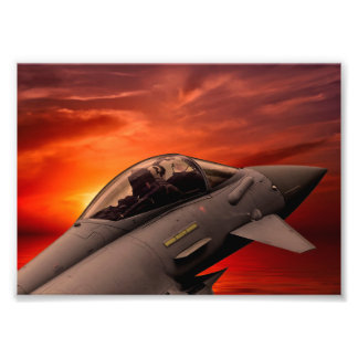 RAF Typhoon Photo Print