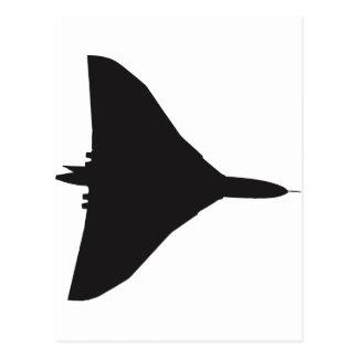 RAF Vulcan Bomber Postcard