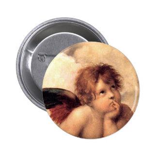Rafael s Putti Button
