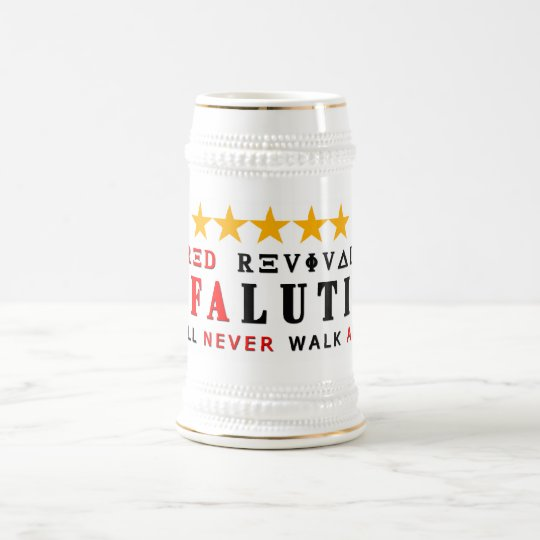 RAFALUTION - RED REVI 5 STAR BEER STEIN