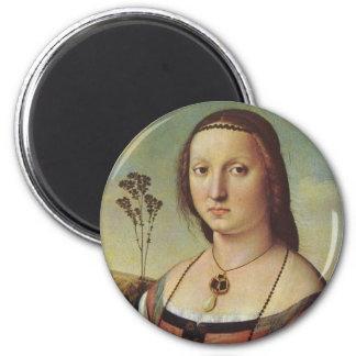 Raffael's Maddalena Doni Magnet