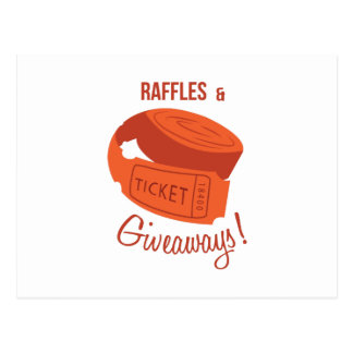 Raffles & Giveaways! Post Card