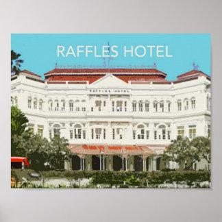 Raffles Hotel Landmark Poster