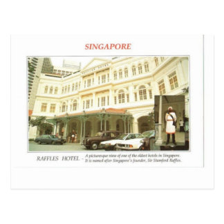 Raffles Hotel Singapore Postcard