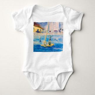 Raft - Fortress - Brazil Baby Bodysuit