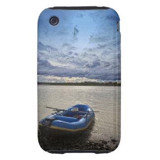 Rafting on Talkeetna River, Alaska Tough iPhone 3 Covers