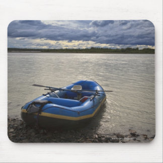 Rafting on Talkeetna River, Alaska Mouse Mat