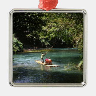 Rafting on the Martha Brae River, Falmouth, Christmas Ornament