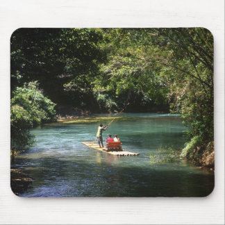 Rafting on the Martha Brae River, Falmouth, Mouse Mat