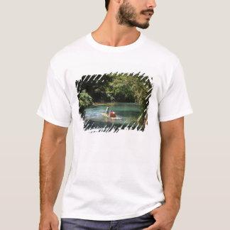 Rafting on the Martha Brae River, Falmouth, T-Shirt