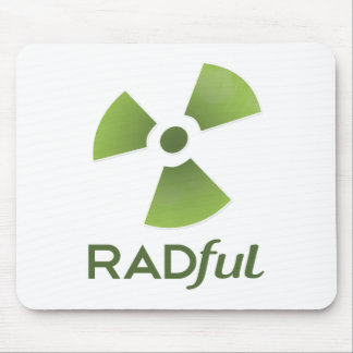 Raful Logo Stacked.png Mouse Pad