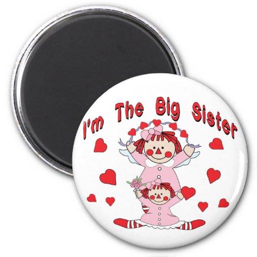 Rag Doll Big Sister Magnet