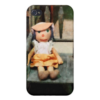 Rag Doll in Chair iPhone 4 Case