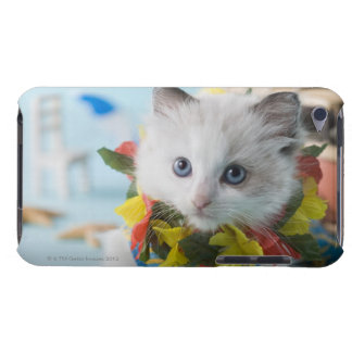 Rag Doll Kitten and Summer Vacation Barely There iPod Cover