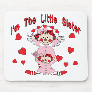 Rag Doll Little Sister Mouse Mat