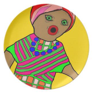 Rag Doll Plate