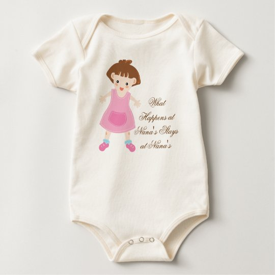 Rag Doll What Happens at Nana's Baby Bodysuit
