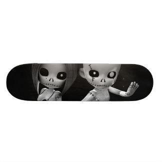 Rag Dolls Couple BW Skate Board