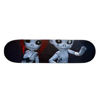 Rag Dolls Couple Custom Skateboard