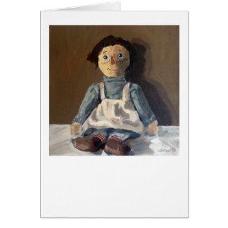 Rag Dolly by Trina Chow Card