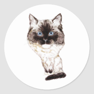 Ragdoll Caricature Stickers