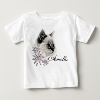ragdoll cat baby t-shirt