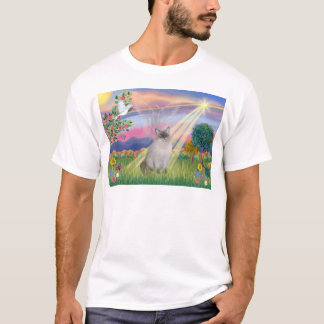 Ragdoll Cat (Blue Point) - Cloud Angel T-Shirt