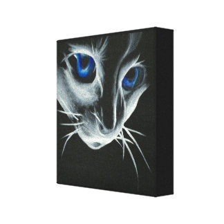 Ragdoll Cat Canvas Stretched Canvas Print
