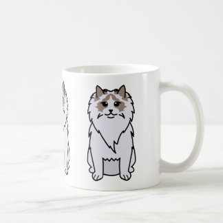 Ragdoll Cat Cartoon Coffee Mug