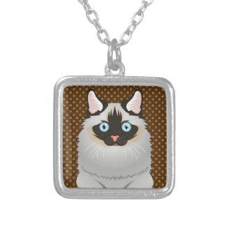 Ragdoll Cat Cartoon Paws Custom Jewelry
