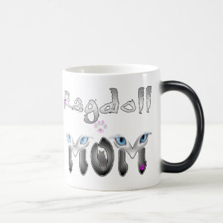 Ragdoll Cat Mom Gifts Magic Mug