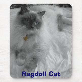 Ragdoll Cat Mouse Mat
