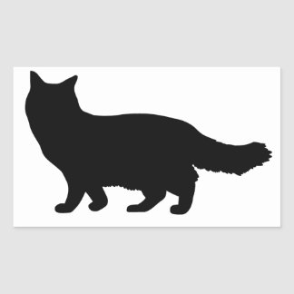 Ragdoll Cat Rectangular Sticker