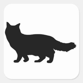Ragdoll Cat Square Sticker