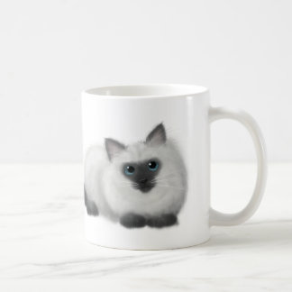 Ragdoll drawing coffee mug