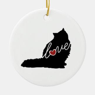 Ragdoll Love Christmas Ornament