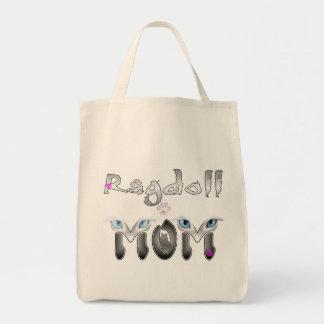 Ragdoll Mom Gifts Canvas Bags
