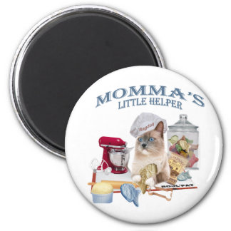 Ragdoll Momma's Helper magnet