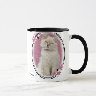 ragdoll mug pink