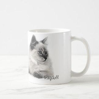 ragdoll sketch mug