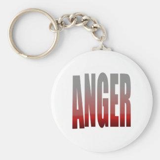 rage - anger key chains