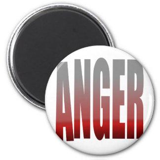 rage - anger refrigerator magnets